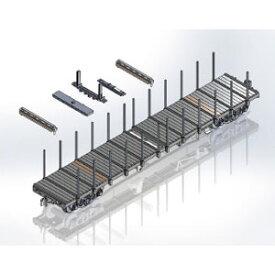 [鉄道模型]モデルアイコン・ワンマイル (HO) 732T2 国鉄チキ6000長物貨車B 6両