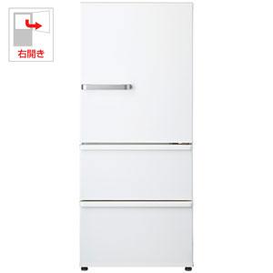 (標準設置料込)AQR-27G2-W アクア 272L 3ドア冷蔵庫(ナチュラルホワイト)【右開き】 AQUA