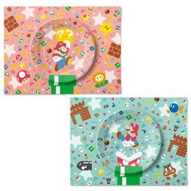 スーパーマリオ ホーム&パーティ ペーパープレートセット(キャラクター&アイテム) 任天堂