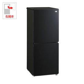 (標準設置料込)JR-NF148B-K ハイアール 148L 2ドア冷蔵庫(ブラック)【右開き】 Haier