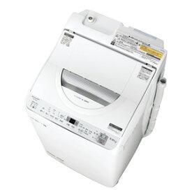 (標準設置料込)【250円OFF■当店限定クーポン 10/21迄】ES-TX5C-S シャープ 5.5kg 洗濯乾燥機 シルバー系 SHARP 穴なし槽