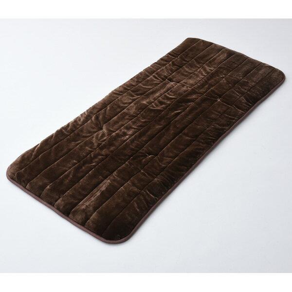YWC-184F-T 山善 ホットマット(180×80cm ブラウン) 【暖房器具】YAMAZEN