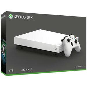 Xbox One X ホワイト スペシャル エディション マイクロソフト [FMP-00063 Xbox One X ホワイト]