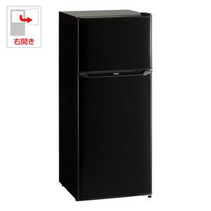 (標準設置料込)JR-N130A-K ハイアール 130L 2ドア冷蔵庫(直冷式)ブラック【右開き】 Haier