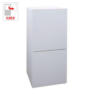 (標準設置料込)HR-E911W ツインバード 110L 2ドア冷蔵庫(ホワイト)【右開き】 TWINBIRD