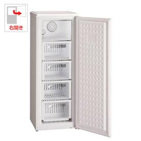 (標準設置料込)MA-6120FF-W 三ツ星貿易 114L 冷凍庫【右開き】ホワイト EXCELLENCE