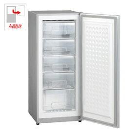 (標準設置料込)MA-6144 三ツ星貿易 144L 冷凍庫【右開き】直冷式 シルバーグレー EXCELLENCE