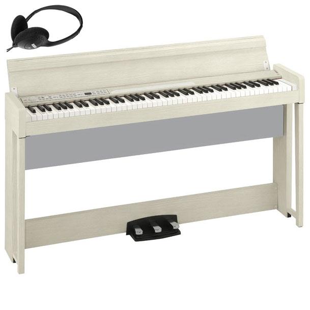 C1-AIR-WA コルグ 電子ピアノ(ホワイト・アッシュ) KORG C1 Air