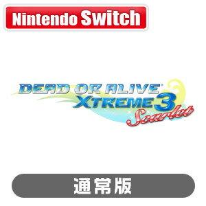 【特典付】【Nintendo Switch】DEAD OR ALIVE Xtreme 3 Scarlet 通常版 コーエーテクモゲームス [HAC-P-ASABB NSW DOA エクストリーム3 スカーレット ツウジョウ]