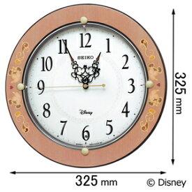 FS-511-P セイコークロック 電波掛け時計【ディズニー】 大人ディズニー [FS511P]【返品種別A】