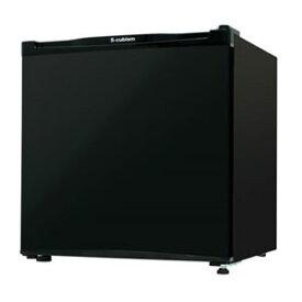 RM-46L01BK エスキュービズム 46L 1ドア冷蔵庫(直冷式)ブラック S-cubism