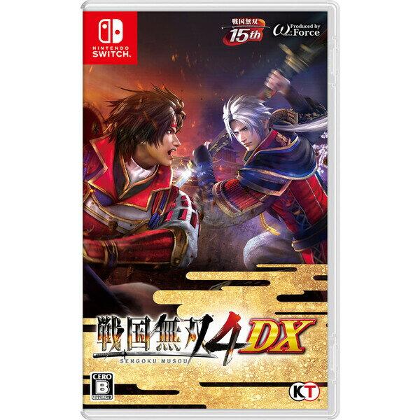 【Nintendo Switch】戦国無双4 DX(通常版) コーエーテクモゲームス [HAC-P-ASYWA NSWセンゴクムソウ4DX ツウジョウ]