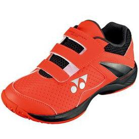 YO-SHTJR29-153-21.0 ヨネックス テニス ジュニアシューズ(オレンジ×ブラック・21.0cm) YONEX パワークッションジュニア29