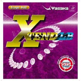 YSK-B65-90-A ヤサカ 卓球ラバー エクステンドLB ラージボール用(クロ・厚) YaSaKa