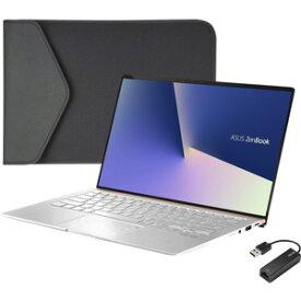 UX433FN-8265IS ASUS(エイスース) 14型 ノートパソコン ASUS ZenBook 14 UX433FN アイシクルシルバー (Core i5/メモリ 8GB/SSD 256GB/GeForce MX150)