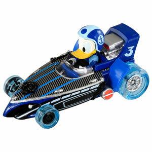 ミッキーマウスとロードレーサーズ トミカ MRR-10 ダック・クルーザー ドナルドダック(スーパーチャージタイプ) タカラトミー 【Disneyzone】
