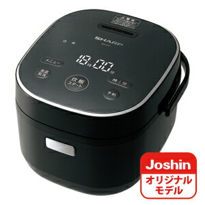KS-JC5-B シャープ ジャー炊飯器 (3合炊き) ブラック SHARP KS-CF05AのJoshinオリジナルモデル