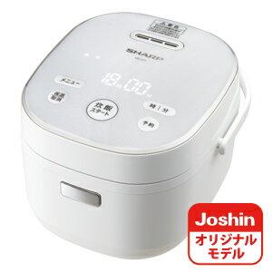 KS-JC5-W シャープ ジャー炊飯器 (3合炊き) ホワイト SHARP KS-CF05AのJoshinオリジナルモデル