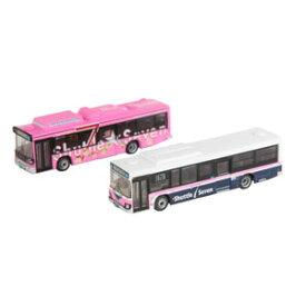 [鉄道模型]トミーテック (N) ザ・バスコレクション 京成バスシャトルセブン新旧カラー2台セット