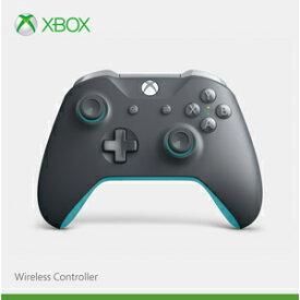 【Xbox One】Xbox ワイヤレスコントローラー(グレー/ブルー) マイクロソフト [WL3-00109 Xboxコントローラーグレーブルー]