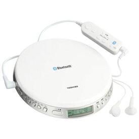 TY-P3-W 東芝 Bluetooth対応スピードコントロール付ポータブルCDプレーヤー TOSHIBA