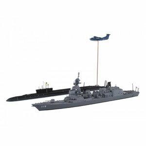 1/700 ウォーターラインシリーズ 海上自衛隊 護衛艦 DD-119 あさひ SP【55656】 アオシマ
