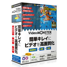 Video MONSTER gemsoft ※パッケージ版