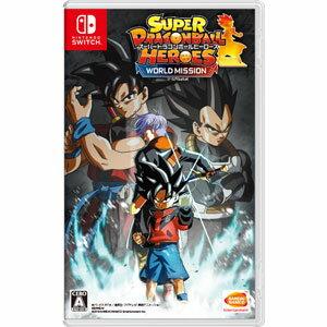 【封入特典付】【Nintendo Switch】スーパードラゴンボールヒーローズ ワールドミッション バンダイナムコエンターテインメント [HAC-P-ANR6A スーパードラゴンボール ワールドミッション]