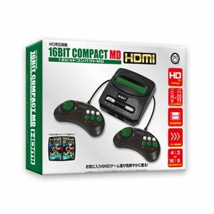 16ビットコンパクトMD HDMI(メガドライブ用互換機) コロンバスサークル [CC-16CMH-BK]