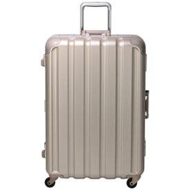 GRE1043-66 GD シフレ 【メーカー直送のみ】スーツケース ハードフレーム 93L(シボゴールド) GREEN WORKS(グリーンワークス)