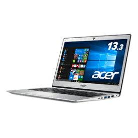 SF113-31-H14Q Acer(エイサー) 13.3型ノートパソコン Swift 1 ピュアシルバー [Celeron / メモリ 4GB / SSD 128GB]WPS Office standard搭載