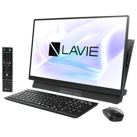 PC-DA370MAB NEC 23.8型デスクトップパソコン LAVIE Desk All-in-one DA370/MAB 【2019年春モデル】Celeron/メモリ 4GB/HDD 1TB/TV機能(シングルチューナ)/Office Personal 2019