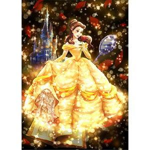 ディズニー ステンドアート トゥインクルシャワーコレクション 愛が照らす物語(ベル) ぎゅっと266ピース ジグソーパズル テンヨー 【Disneyzone】