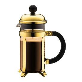 1923-17 ボダム シャンボール フレンチプレスコーヒーメーカー 0.35L ゴールド bodum CHAMBORD