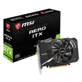 【最大1000円OFF■当店限定クーポン 7/11 1:59迄】GeForce RTX 2060 AERO ITX 6G OC MSI PCI Express 3.0 x16対応 グラフィックスボードMSI GeForce RTX 2060 AERO ITX 6G OC