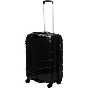 TRI2066-58 HLBK シフレ 【メーカー直送のみ】グリップ付きスーツケース ファスナータイプ 65L(ヘアラインブラック) GripMaster(グリップマスター)