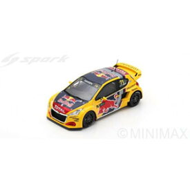 1/43 Peugeot 208 WRX No.71 Rd.4 World RX of Great Britain 2018 - Team Peugeot Total【S7806】 スパーク