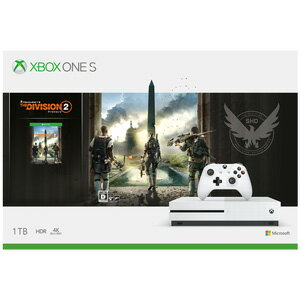 Xbox One S 1TB (ディビジョン2 同梱版) マイクロソフト [234-00887 XboxOneS DIVISION2 ドウコン]