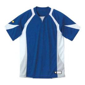 DS-DB113-RYWH-O デサント ベースボールシャツ(RYWH・サイズ:O) DESCENTE BASEBALL SHIRT プロモデル(レギュラーシルエット)