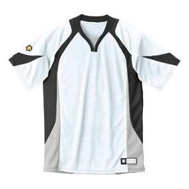 DS-DB113-WBK-XO デサント ベースボールシャツ(WBK・サイズ:XO) DESCENTE BASEBALL SHIRT プロモデル(レギュラーシルエット)