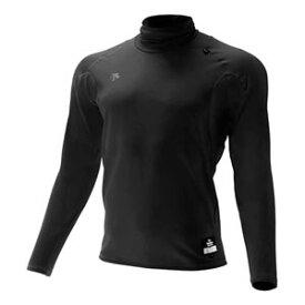 DS-STD645-BLK-L デサント 野球・ソフトボール用アンダーシャツ(BLK・サイズ:L) DESCENTE タートルネック長袖リラックスFITシャツ/ヒート