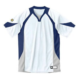 DS-DB113-WNV-S デサント ベースボールシャツ(WNV・サイズ:S) DESCENTE BASEBALL SHIRT プロモデル(レギュラーシルエット)