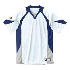 DS-DB113-WNV-XA デサント ベースボールシャツ(WNV・サイズ:XA) DESCENTE BASEBALL SHIRT プロモデル(レギュラーシルエット)