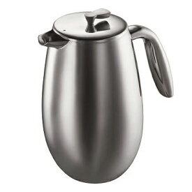 1308-16 ボダム コロンビア フレンチプレスコーヒーメーカー 1.0L ステンレス bodum COLUMBIA [130816]