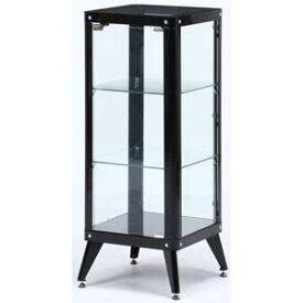 98844 不二貿易 ガラスコレクションケース3段(ブラック) TMG-G82 [98844フジボウエキ]