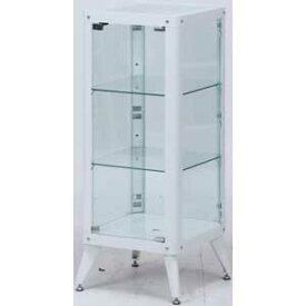 98845 不二貿易 ガラスコレクションケース3段(ホワイト) TMG-G82 [98845フジボウエキ]