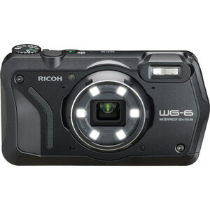 WG-6BK リコー デジタルカメラ「RICOH WG-6」(ブラック)
