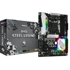 B450 STEEL LEGEND ASRock ATX対応マザーボードB450 STEEL LEGEND