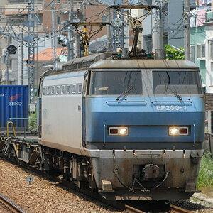 [鉄道模型]カトー (Nゲージ) 3036-2 EF200(登場時塗装)