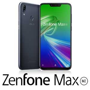 ZB633KL-BK32S4 エイスース ASUS ZenFone Max (M2) ミッドナイトブラック 6.3インチ SIMフリースマートフォン[マルチキャリア対応:docomo/au/Y!mobile VoLTE]